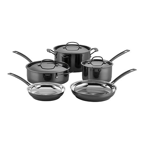 Cuisinart Mica Shine Stainless 8-pc. Cookware Set