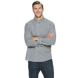 Big & Tall SONOMA Goods for Life® Flexwear Poplin Button-Down Shirt