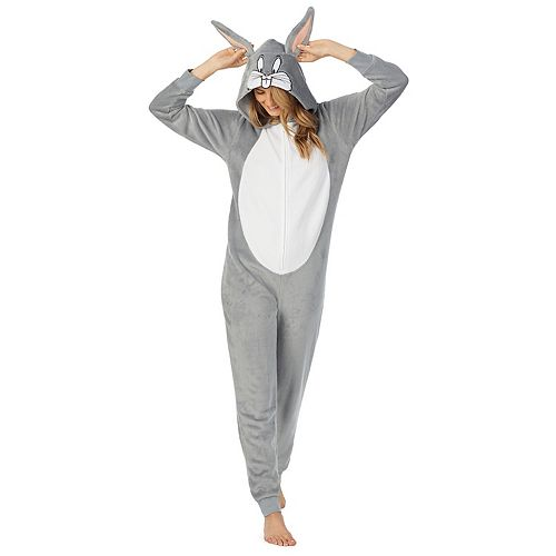 Juniors' Bugs Bunny Union Suit