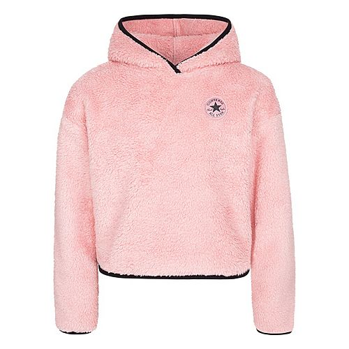Girl's 7 16 Converse Soft Sherpa Pullover Hoodie