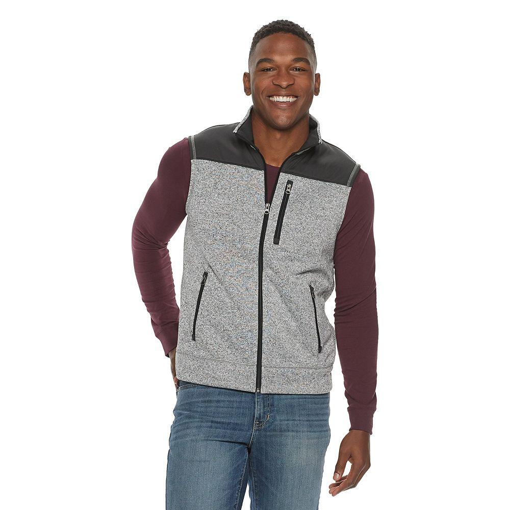 Men's SONOMA Goods for Life™ Sweater Fleece Vest