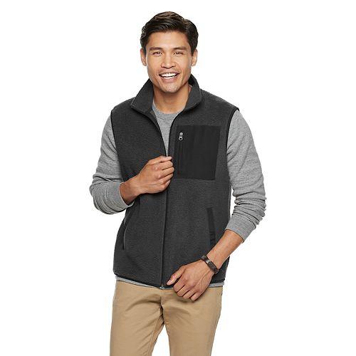 Men's SONOMA Goods for Life™ Sherpa Fleece Vest