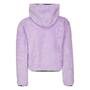 Girl's 7-16 Converse Purple Soft Sherpa Pullover Hoodie