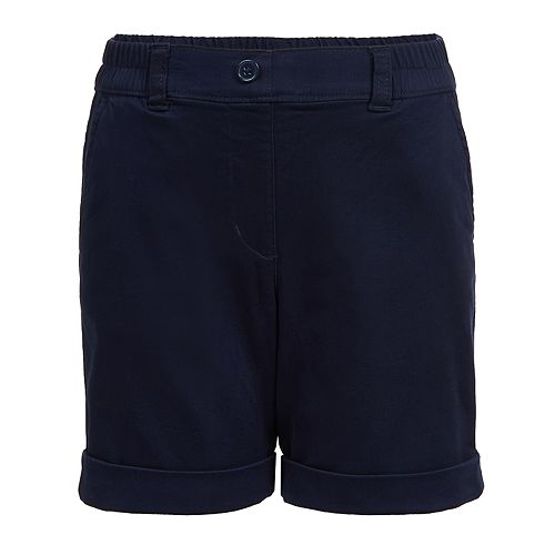 Girls 7-16 Chaps Stretch Pull-On Shorts