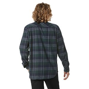 Men's Vans Rebuffed Plaid Flannel Button-Down Shirt