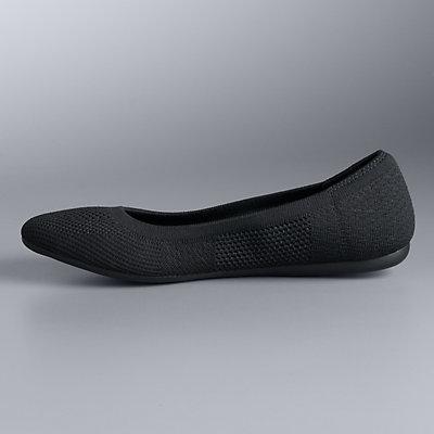 Simply Vera Vera Wang Berner Women's Flex Round-Toe Ballet Flat