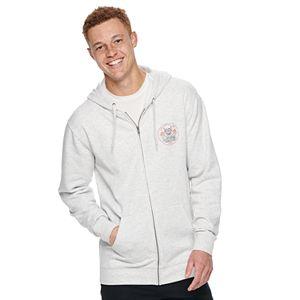 Men's Vans® Hooded Graphic Zip Fleece