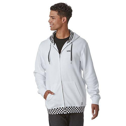 Men's Vans Checkered Zip-Up Hoodie