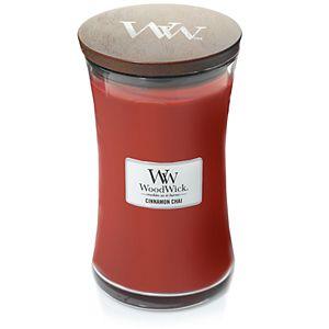 WoodWick Cinnamon Chai Large Hourglass Candle