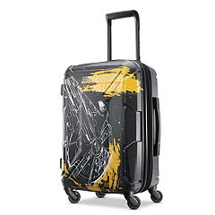 4eee593264 American Tourister Star Wars Perfect Packer Hardside Spinner Luggage with  Nesting Backpack