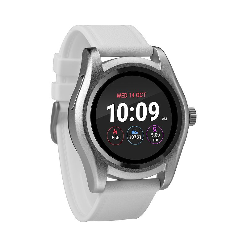UPC 194366000085 product image for Timex iConnect Smart Watch - TW5M31700SO, Size: Large, White | upcitemdb.com