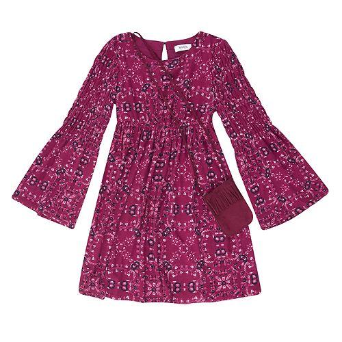 Girls 7-16 Speechless Printed Peasant Dress