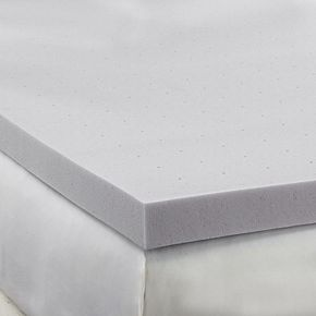 Hotel Laundry Hypoallergenic Bamboo Charcoal 2.5 inch Memory Foam Mattress Topper
