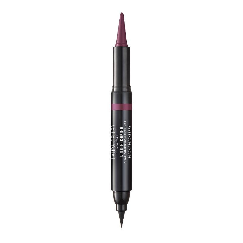 Laura Geller Line-N-Define Dual Dimensional Eyeliner, Red Overfl This eye linear delivers flexible quick setting film with good adhesion. Vitamin E: Conditioning antioxidants for smooth application on delicate eyelid area. Spherical powders: Optimal glide, good blending ability for ease of application. Micronized pigments: Perfect and intense color release Film forming polymer: Provides excellent water resistance while remaining easy to remove Does Not contain: Alcohol, Fragrance, Gluten, Parabens, Mineral Oil, Soy. HOW TO USE Line and contour inner and outer rims with the cream kohl for a subtle daytime look. Amp up your eye make-up for nighttime by drawing a dramatic, crisp cat eye with the liquid marker side. Pair with LashBoss for lashes that brings your eye look to the next level. Due to its contents, this product cannot be shipped via our Priority Service or sent to Alaska, Hawaii, and/or APO/FPO military addresses. Size: One Size. Color: Red Overfl. Gender: female. Age Group: adult.