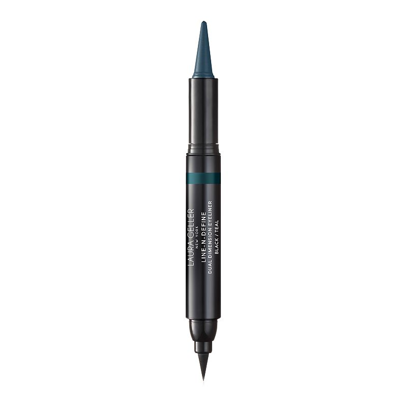 Laura Geller Line-N-Define Dual Dimensional Eyeliner, Turquoise/Blue This eye linear delivers flexible quick setting film with good adhesion. Vitamin E: Conditioning antioxidants for smooth application on delicate eyelid area. Spherical powders: Optimal glide, good blending ability for ease of application. Micronized pigments: Perfect and intense color release Film forming polymer: Provides excellent water resistance while remaining easy to remove Does Not contain: Alcohol, Fragrance, Gluten, Parabens, Mineral Oil, Soy. HOW TO USE Line and contour inner and outer rims with the cream kohl for a subtle daytime look. Amp up your eye make-up for nighttime by drawing a dramatic, crisp cat eye with the liquid marker side. Pair with LashBoss for lashes that brings your eye look to the next level. Due to its contents, this product cannot be shipped via our Priority Service or sent to Alaska, Hawaii, and/or APO/FPO military addresses. Size: One Size. Color: Turq/Aqua. Gender: female. Age Group: adult.