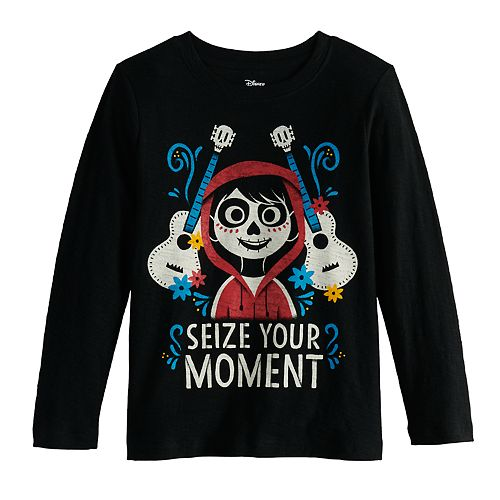 Boys 4-12 Disney's Seize Your Moment Jersey Tee by Jumping Beans®