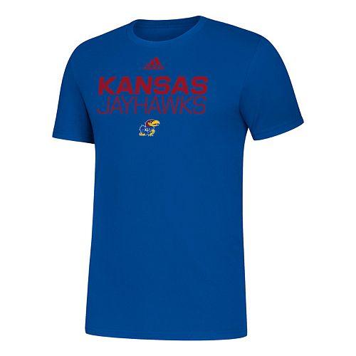 Men's adidas Kansas Jayhawks Amplifier Tee