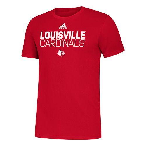 Men's adidas Louisville Cardinals Amplifier Tee