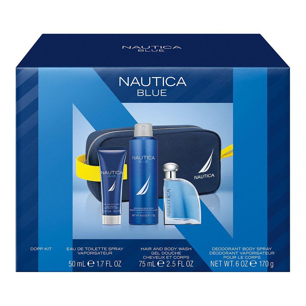 Nautica Blue Men's 4-Piece Gift Set ($49 Value)