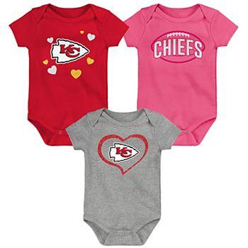 fb2cdfc7 Girls NFL Kansas City Chiefs GIRLS BABY (TEAM NAME) NFL
