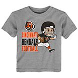 Toddler NFL Cincinnati Bengals Lil Player Short-Sleeve Tee