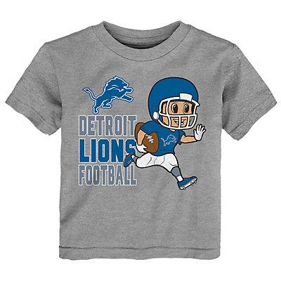 Toddler NFL Detroit Lions Lil Player Short-Sleeve Tee