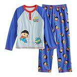 Boys 4-8 Ryan's World Pajama Set