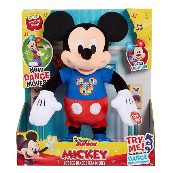 Just Play Mickey Hot Dog Dance Break Feature Plush