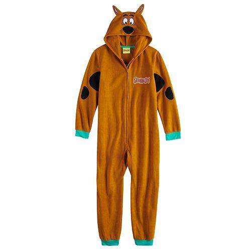 Boys 4-12 Scooby Doo Union Suit