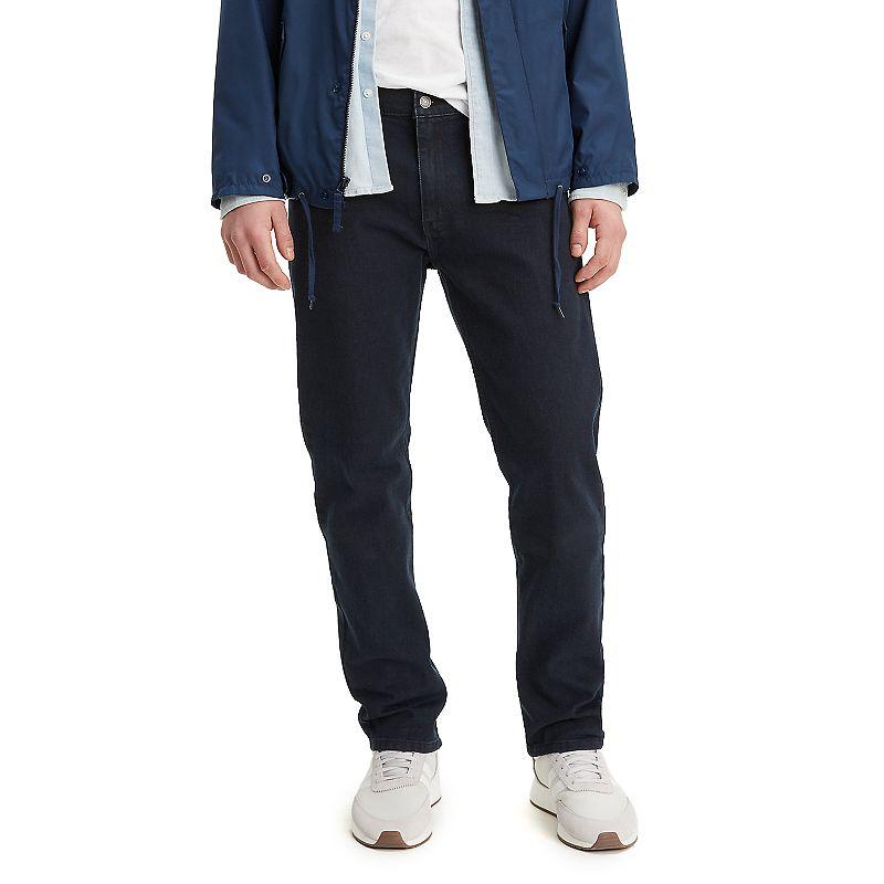 Men's Levi's 502 Regular Taper-Fit Stretch All Seasons Tech Jeans, Size: 34X34, Dark Blue