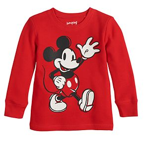 Boys 4-12 Disney?s Mickey Mouse Insertion Long-Sleeve Thermal Tee By Jumping Beans®