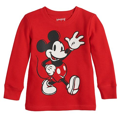 Disney's Mickey Mouse Boys 4-12 Long-Sleeve Thermal Tee By Jumping Beans®