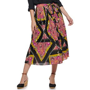 Women's Apt. 9® Accordion Pleated Midi Skirt