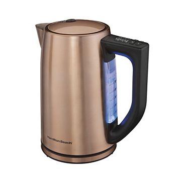 Hamilton Beach 1.7-Liter Variable Temperature Copper Kettle