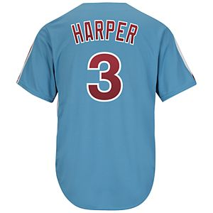 Mens Philadelphia Phillies Harper 3 Jersey