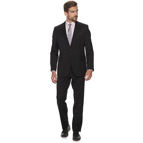 Men's Kroon Keidis Active Inspired Movement Modern-fit Wool Performance Suit