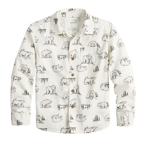 Boys 4-12 SONOMA Goods for Life™ Button Down Shirt