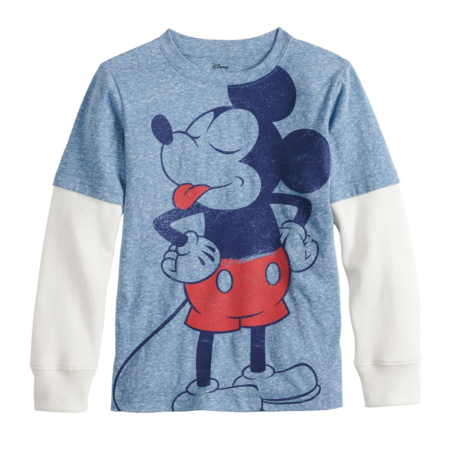blue mickey mouse \u0026 friends kohl\u0027sboys 4 12 disney\u0027s mickey mouse sassy mickey graphic tee by jumping beans®