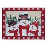 St. Nicholas Square® Snowman Tapestry Placemat