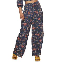 1aae7a348ff9db Juniors' Live To Be Spoiled Smocked Waist Pull-On Pants