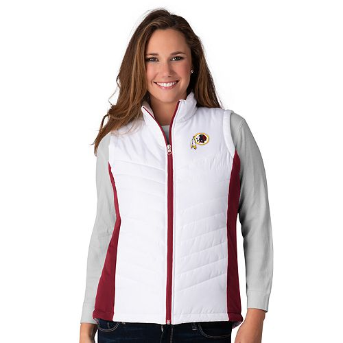 new york 30045 e904c Womens NFL Washington Redskins G-III For Her Vest