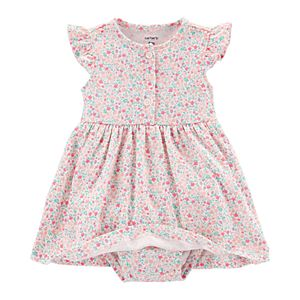 Baby Girl Carter's Floral Dress & Cardigan Set
