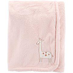 Baby Girl Carter's Giraffe Plush Blanket