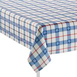 Main Street Plaid Texas Tablecloth