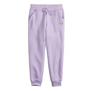 Girls 4-12 Jumping Beans® Fleece Jogger Pants