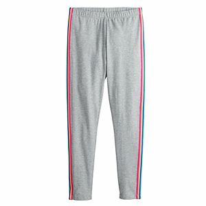 Girls 4-20 & Plus Size SO Side Stripe Favorite Leggings