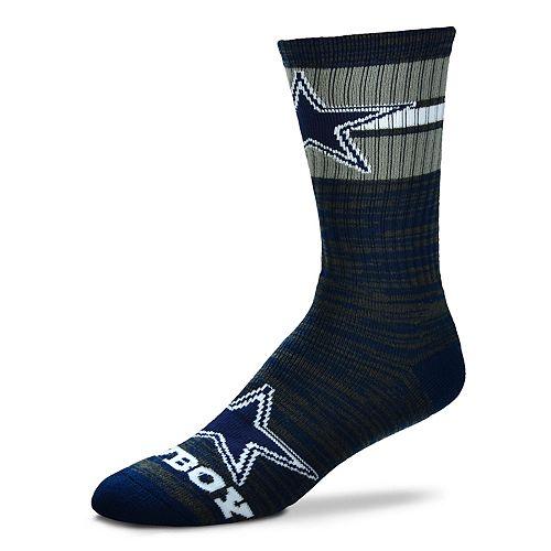 Men's For Bare Feet Dallas Cowboys First String Crew Socks