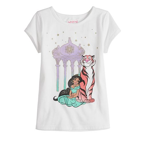 Disney's Aladdin Jasmine Girls 4-12 Adaptive Graphic Tee by Jumping Beans®