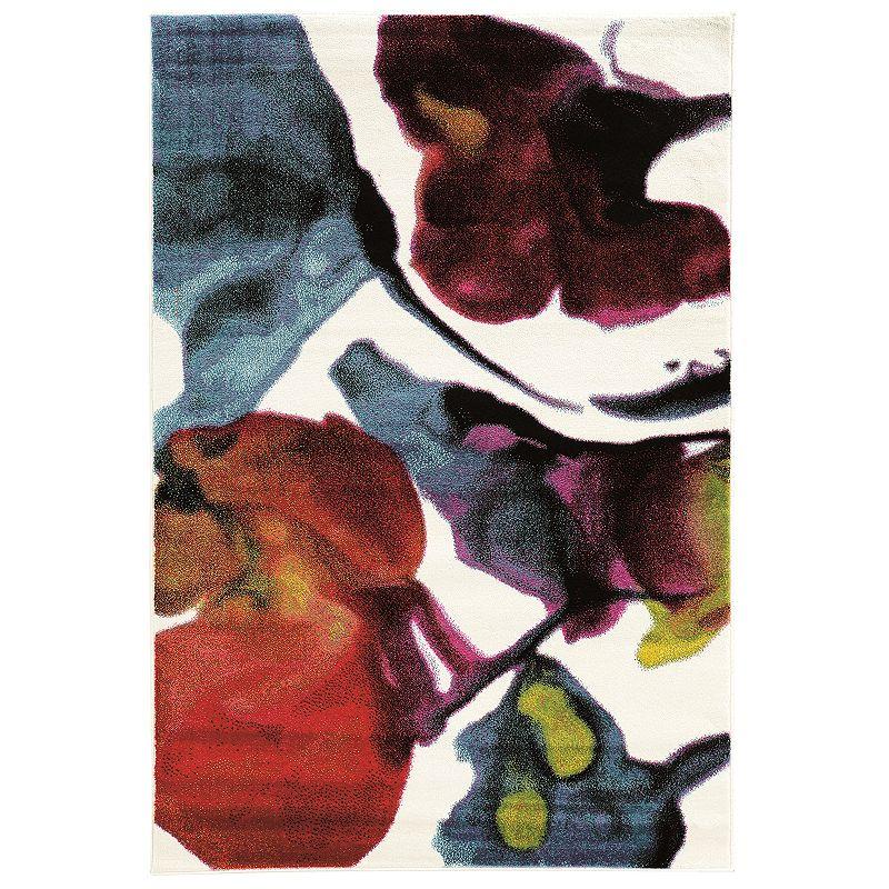 Linon Masters Multi-Colored Rug. Multicolor. 8X10 Ft