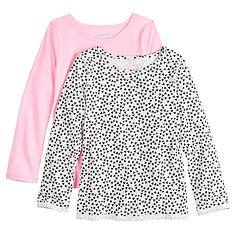 1097d76e Girls Pink Jumping Beans Kids Long Sleeve Tops, Clothing   Kohl's